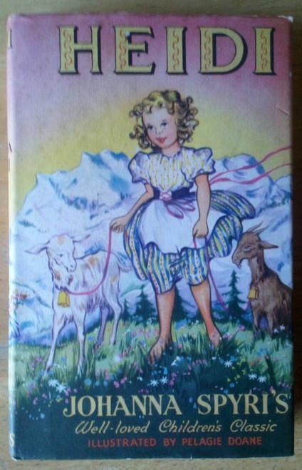Spyri, Johanna - Heidi - Illustrated Vintage Hardcover Ed 1960 Children's Classic