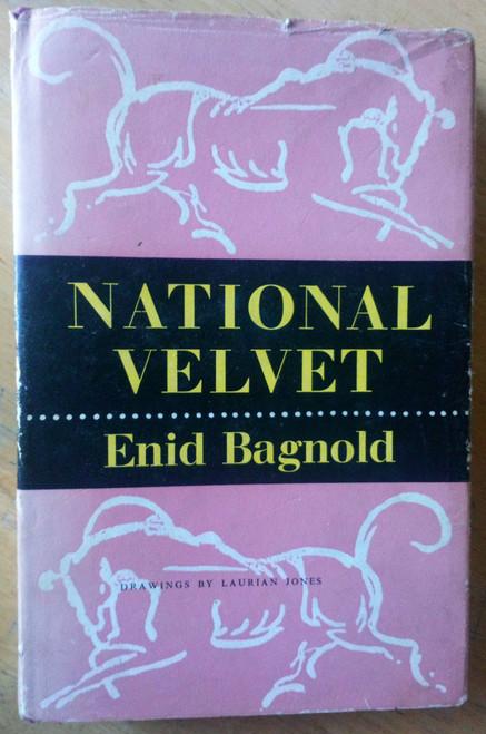 Bagnold, Enid - National Velvet - Vintage Hardcover 1974 Ed - Horse Racing Classic