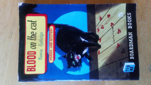 Rutger, Nancy - Blood on the Cat - Vintage Pulp Fiction Crime Mystery 1950