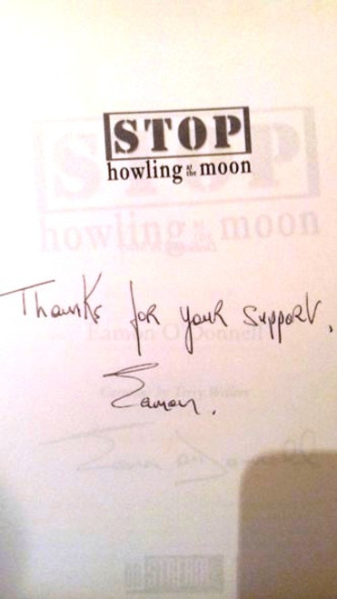 Eamon O'Donnell / Stop Howling at the Moon : 101 Bedtime Stories for Managers (Paperback) (Signed by the Author)