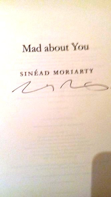 Sinead Moriarty / Mad About You (Large Paperback) (Signed by the Author)