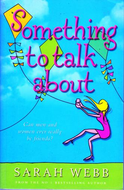Sarah Webb / Something to Talk About (Large Paperback) (Signed by the Author)