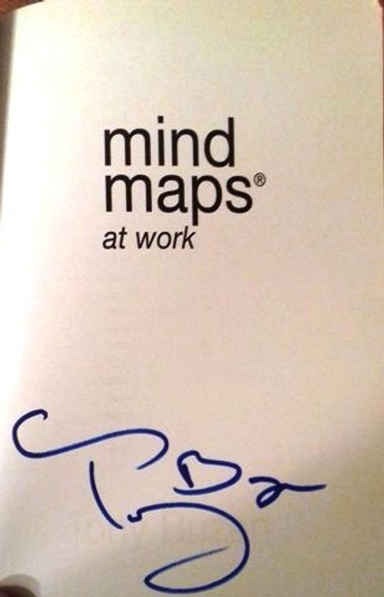 Tony Buzan / Mind Maps at Work : How to be the Best at Work and Still Have Time to Play (Large Paperback) (Signed by the Author)