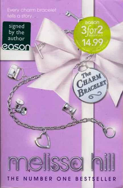 Melissa Hill / The Charm Bracelet (Large Paperback) (Signed by the Author) (2)