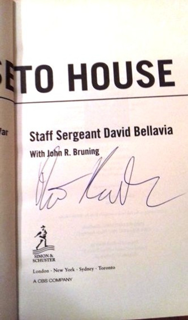 David Bellavia / House to House : An Epic of Urban Warfare (Large Paperback) (Signed by the Author)