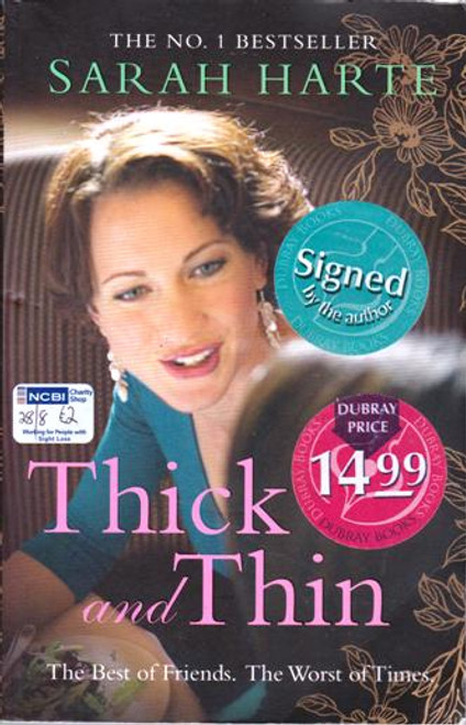 Sarah Harte / Thick and Thin (Large Paperback) (Signed by the Author)