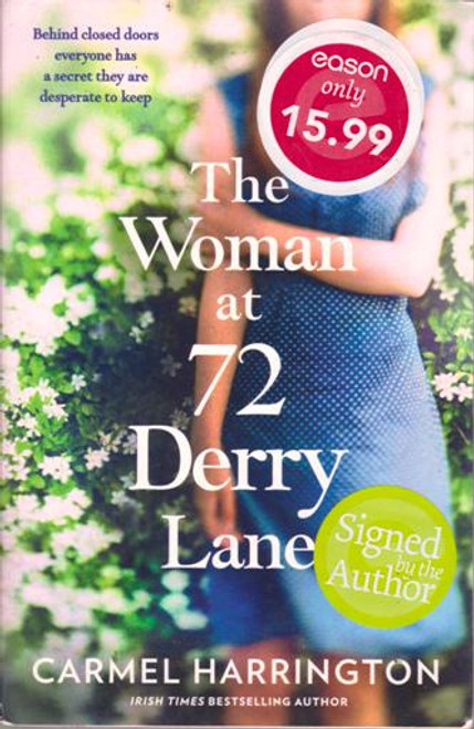 Carmel Harrington / The Woman at 72 Derry Lane (Large Paperback) (Signed by the Author)