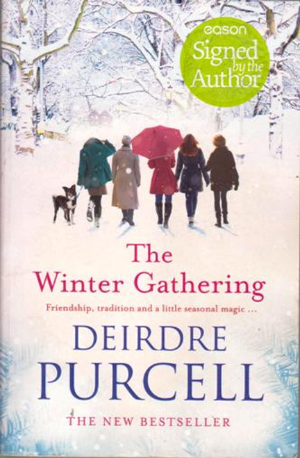 Deirdre Purcell / The Winter Gathering (Large Paperback) (Signed by the Author)