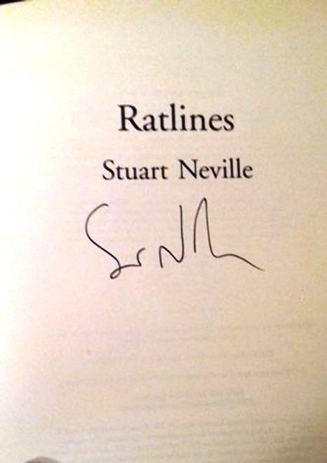 Stuart Neville / Ratlines (Large Paperback) (Signed by the Author)