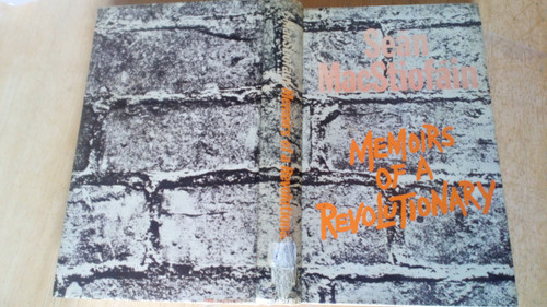 Mac Stiofáin, Seán - Memoirs of a Revolutionary HB IRA 1975 Ex library 1st Ed