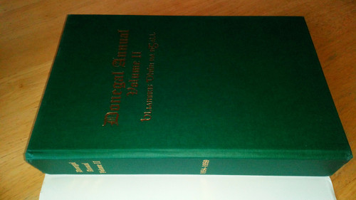 Beattie, Seán ( ED) Donegal Annual Volume II 1954-59 Limited Numbered Ed Hardcover 2011