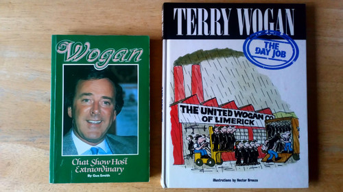 Wogan, Terry _ 2 book lot : The day Job & Chat Show Host Extraordinary - PB Biography