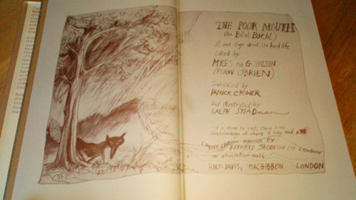 O'Brien, Flann ( Myles na Gopaleen ) The Poor Mouth HB ( English translation) Illustrated by Ralph Steadman