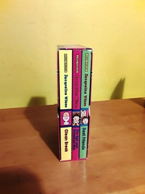Jacqueline Wilson Stories Secrets & Surprises (Complete 3 Book Box Set)