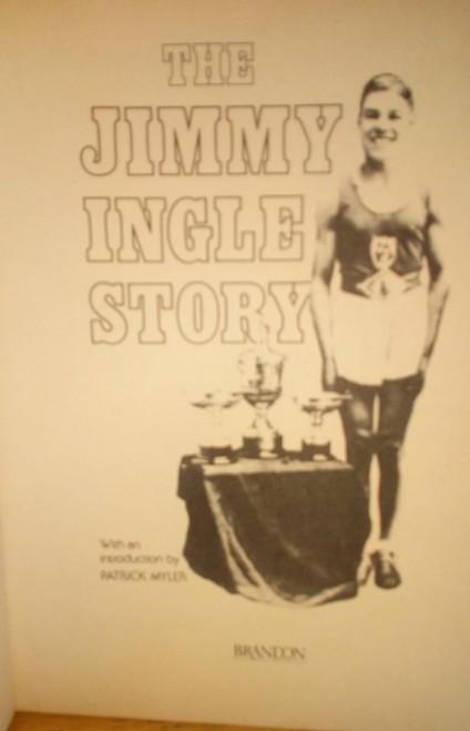 Ingle, Jimmy - The Jimmy Ingle Story - PB 1st Ed 1984 Irish Boxing Ringsend Dublin