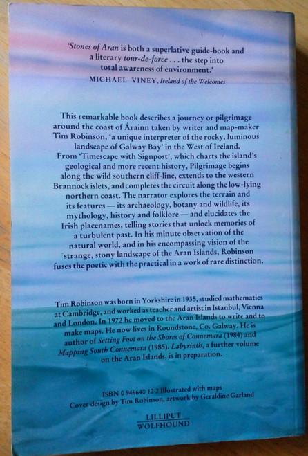 Robinson, Tim - Stones of Aran : Pilgrimage PB 1st Ed 1986 Lilliput Press