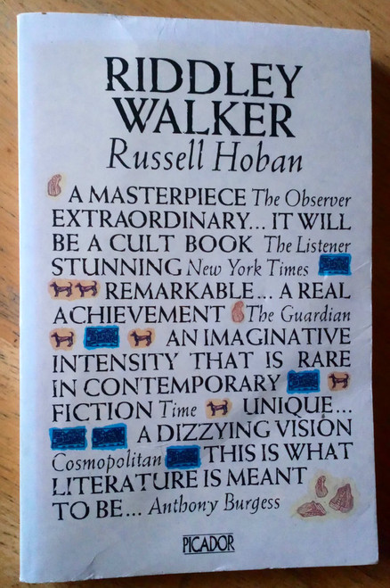 Hoban, Russell - Riddley Walker - PB Picador Edition 1982 SF Classic