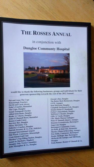 Iris na Rosann - The Rosses Annual , Donegal 2012 PB local History