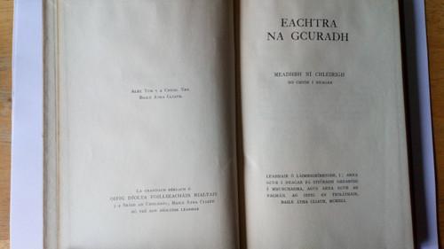 Ní Chléirigh, Meadhbh - Eachtradh na gCuradh 1941 - HB 1st Ed