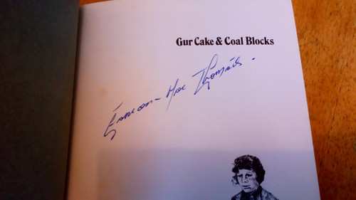 Mac Thomáis, Éamonn - Gur Cakes and Coal Blocks SIGNED HB 1st Ed 1976 Dublin Street Life