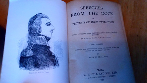 Sullivan, D.B & Ua Ceallaigh, Seán - Speeches from the dock , or Protests of Irish patriotism, HB Gill 1968