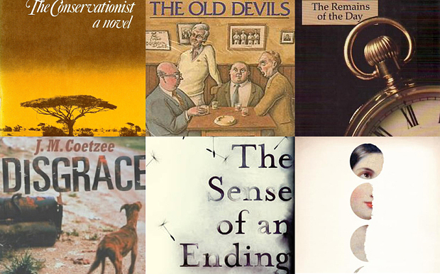 50 Years of the Booker Prize. Backlists and shortlists.