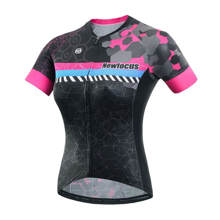 Women's RIDER Thunder Black/Pink S/S Jersey
