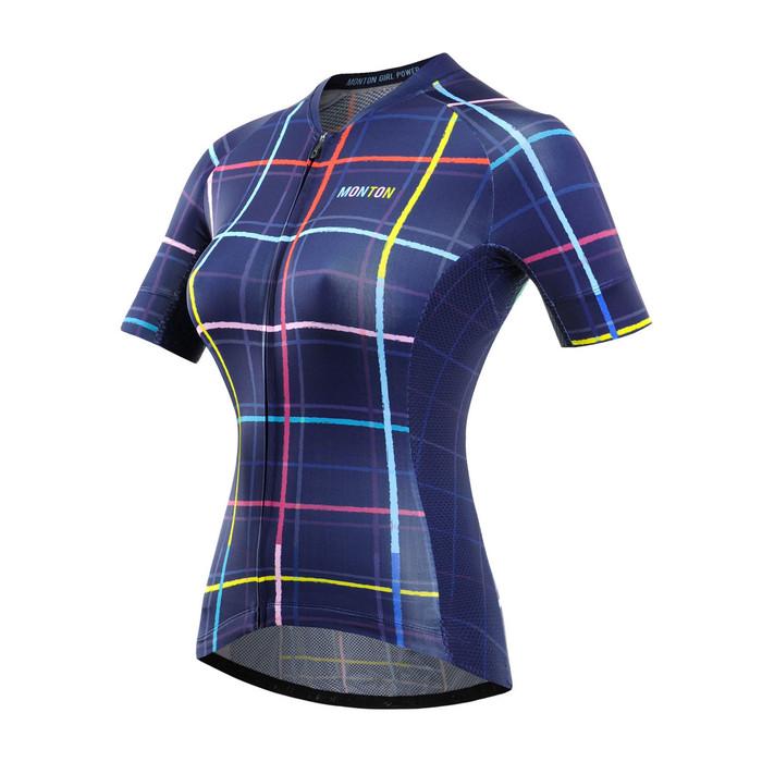 Women's RACE Dream Weaver Blue S/S Jersey
