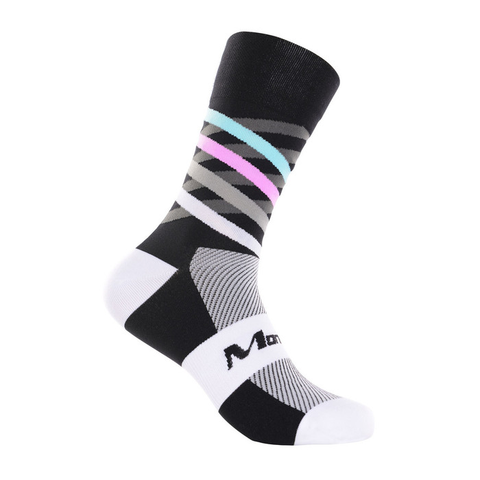 Dimensions black/white/multi Socks