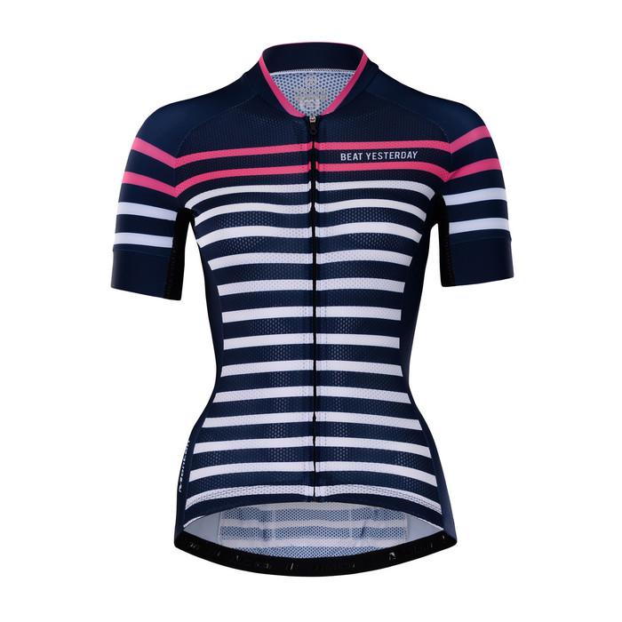 Women's RIDER Sailor Blue S/S Jersey