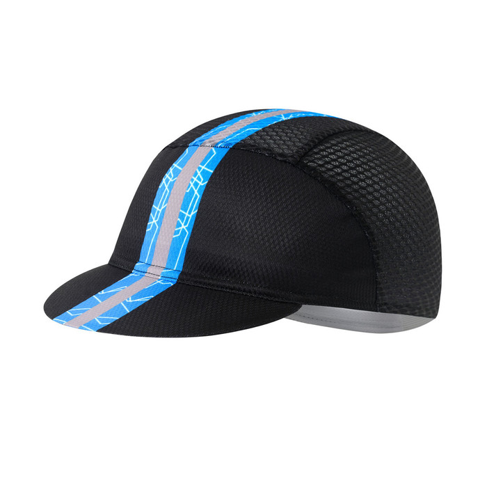 Thunder Black/Blue Cycling Cap