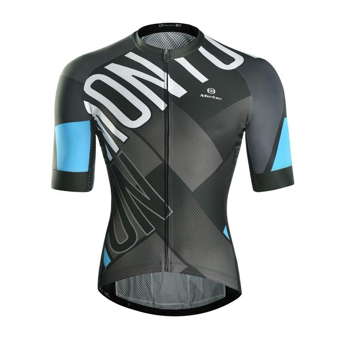 Men's RACE A Edge S/S Jersey - blue