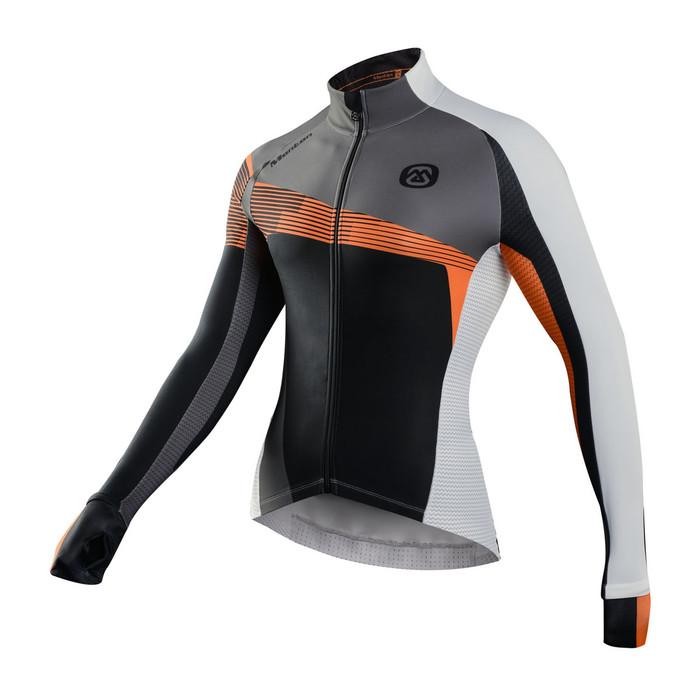 Men's REVO Ortles Grey/Orange Thermal Jersey