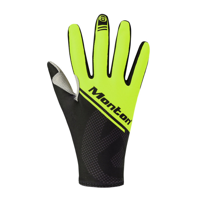 Lenso Thermal Cycling Gloves - black/yellow