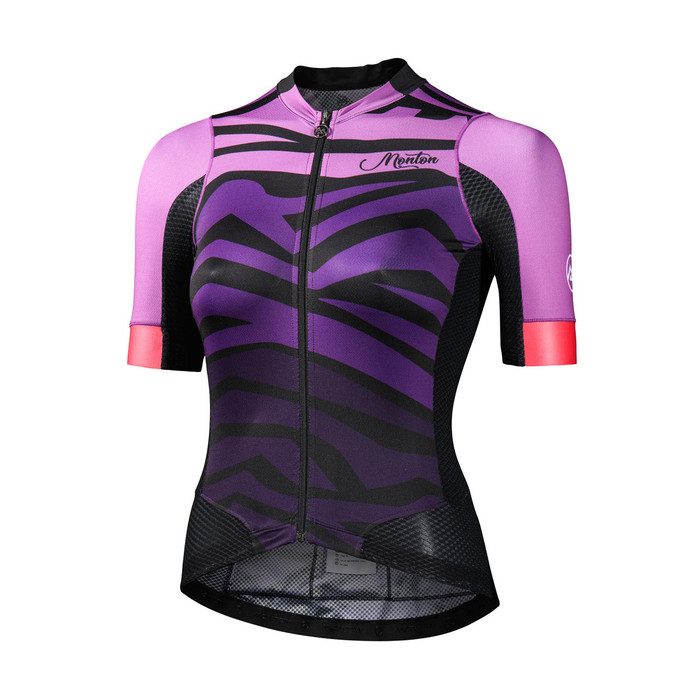 Women's 2018 Urban+ Furious Waves purple S/S Jersey