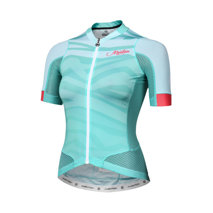 Women's 2018 Urban+ Furious Waves light green S/S Jersey