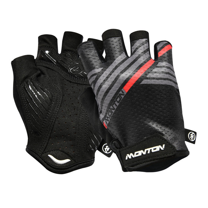 Urban+ 2018 Graffio half finger black/grey Gloves