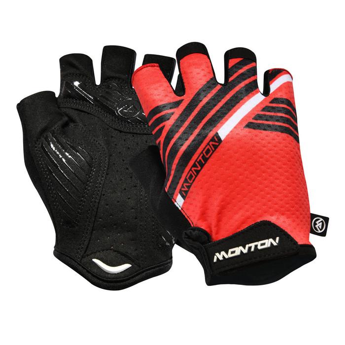 Urban+ 2018 Graffio half finger black/red Gloves