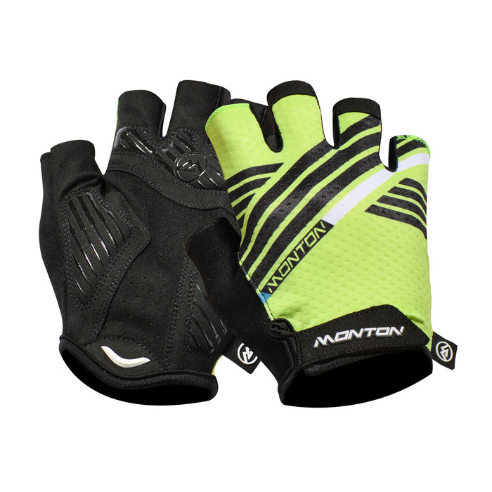 Urban+ 2018 Graffio half finger black/green Gloves