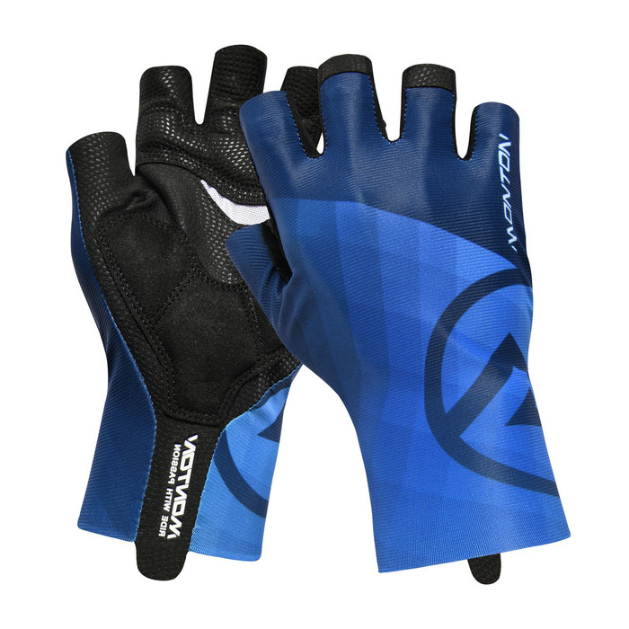 Lifestyle 2018 Miraggio half finger blue Gloves