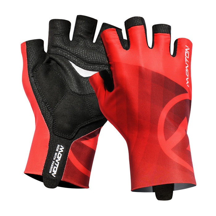 Lifestyle 2018 Miraggio half finger red Gloves