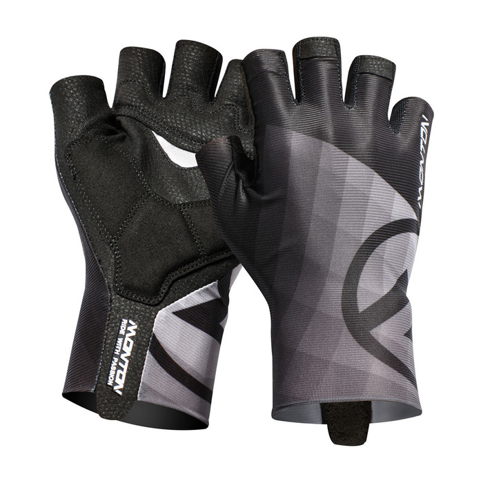 Lifestyle 2018 Miraggio half finger black/grey Gloves