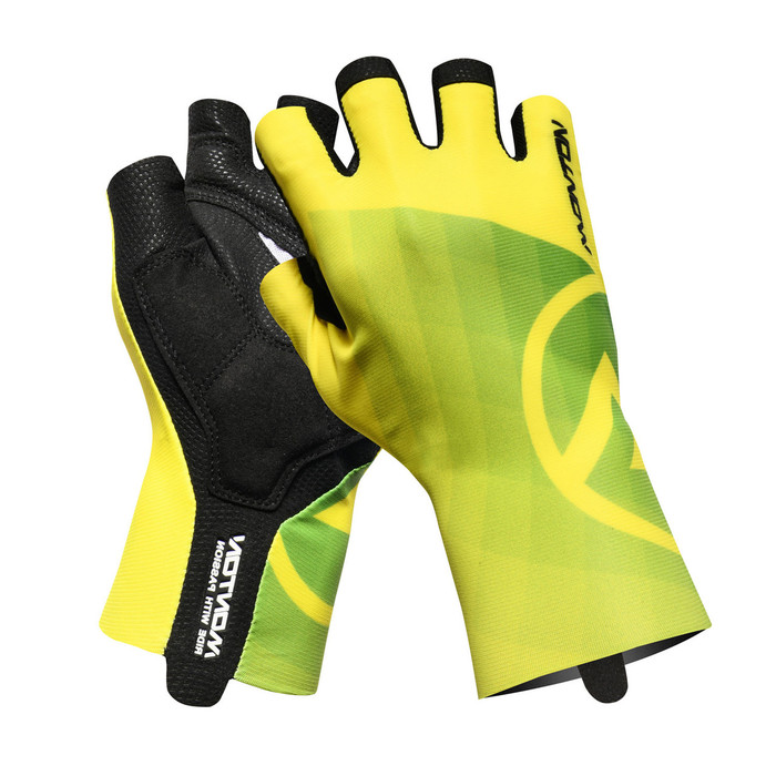 Lifestyle 2018 Miraggio half finger yellow Gloves