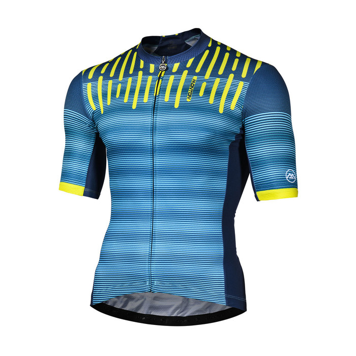 Men's 2018 Lifestyle Sylphy blue S/S Jersey