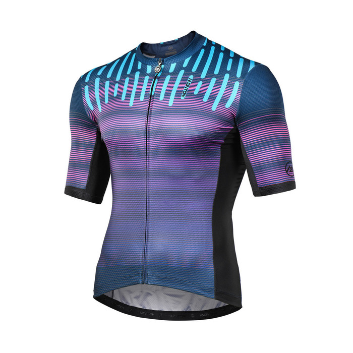 Men's 2018 Lifestyle Sylphy purple S/S Jersey