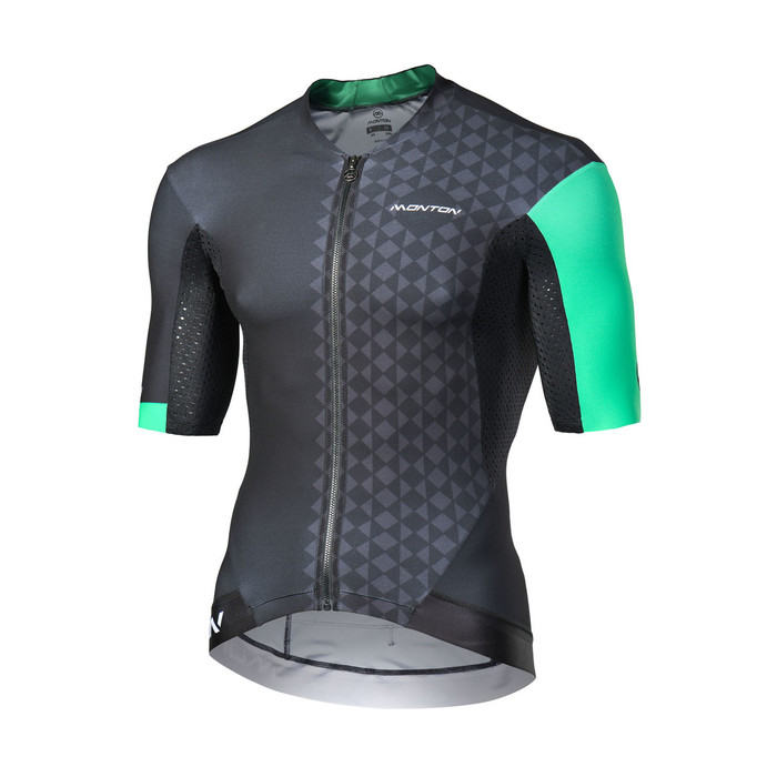 Men's 2018 Pro Eagol black/green S/S Jersey