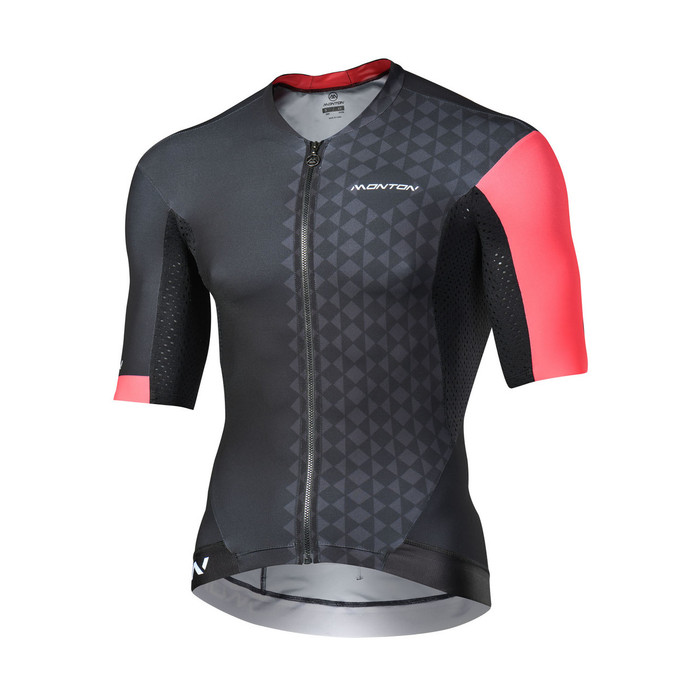 Men's 2018 Pro Eagol black/red S/S Jersey