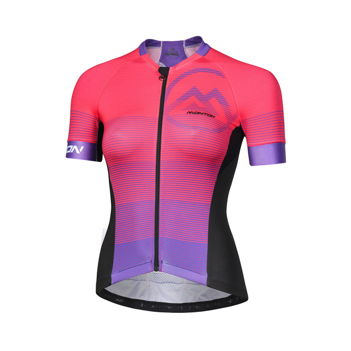 Women's 2018 Urban+ Alanya purplish red S/S Jersey