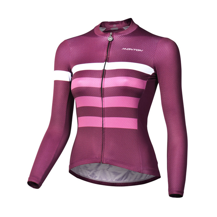 Women's 2018 Lifestyle Sail (purplish red) L/S Jersey