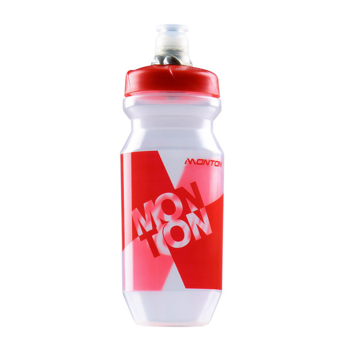 Lavaredo Transparent Red Water Bottle